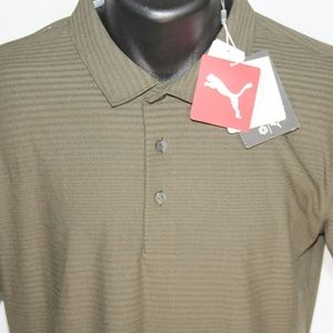 NEW Puma Pounce dryCell Performance Golf Polo, M